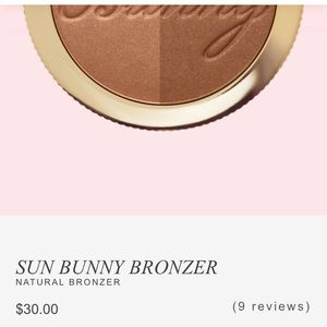 New too faced dual bronzer